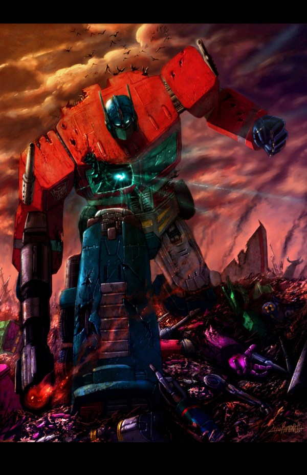 Transformers: Optimus Prime by Livio Ramondelli