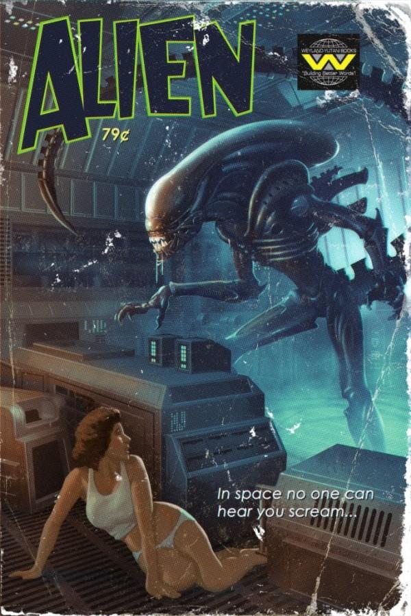 Alien Pulp Novel