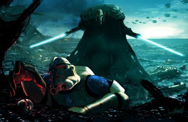 Star Wars: General Grievous by Livio Ramondelli
