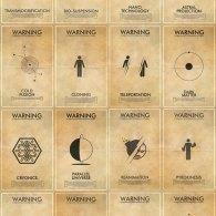 Fringe Vintage Warning Posters