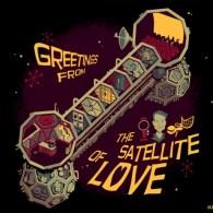 Greetings from the Satellite of Love by Glen Brogan