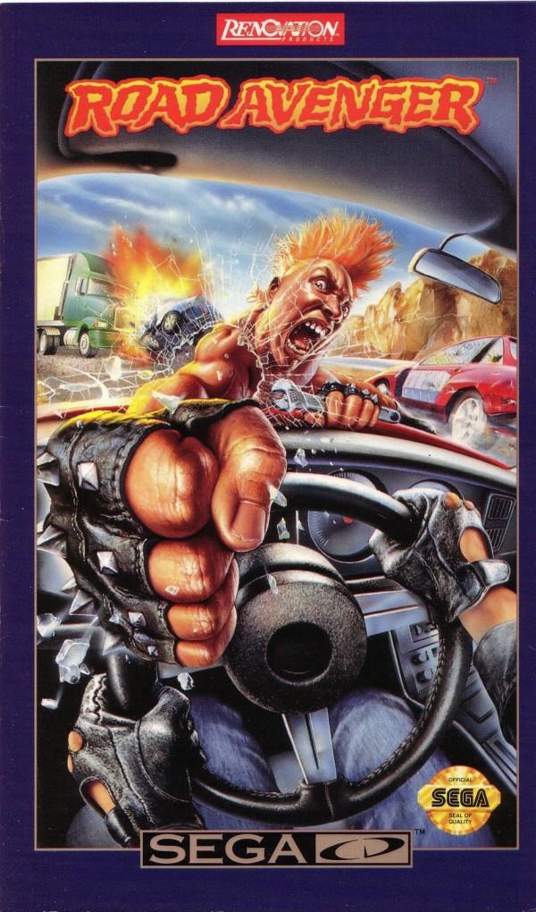 Sega CD Road Avenger cover art