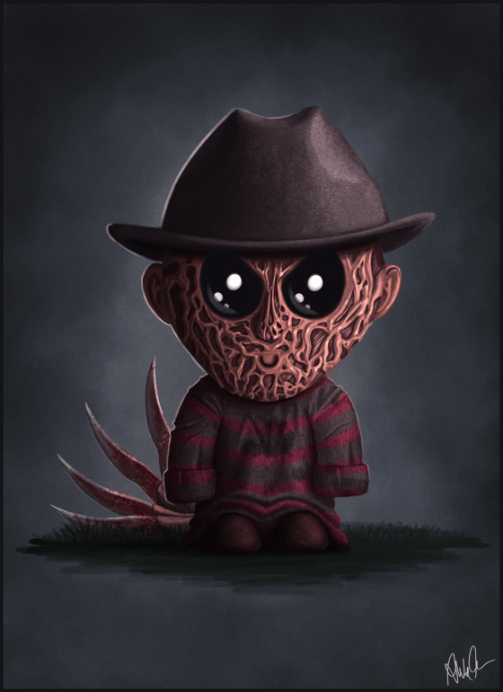 Freddy Krueger Jr. by Monkey Gekko - Nightmare on Elm Street