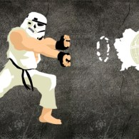 Stormtrooper Ryu: Street Fighter x Star Wars Mashup