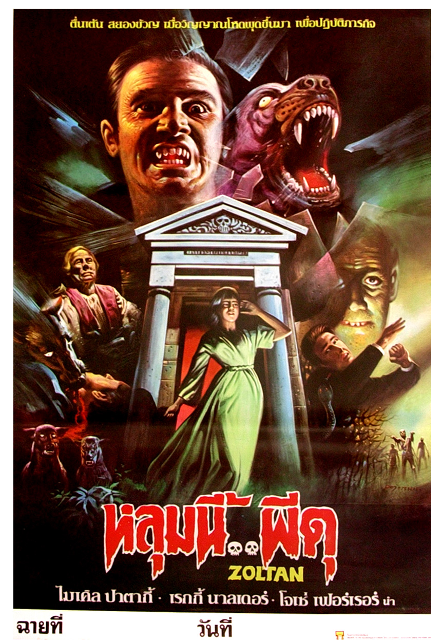 thai horror and scifi movie poster collection part 3