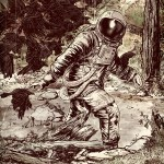 Cover of Hoax Hunters #2 by Tristan Jones - Bigfoot, Sasquatch, Astronaut