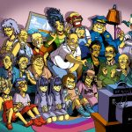 The Simpsonzu by Space Coyote - Anime Manga Style Fanart