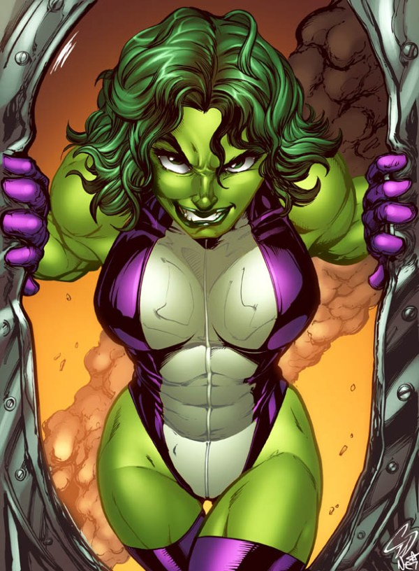 "She-Hulk Fan Art by Chris ""C-dubb"" Williams - Marvel Comics"