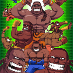 Dee Jay Pixel Art by Paul Robertson - Street Fighter Fanart