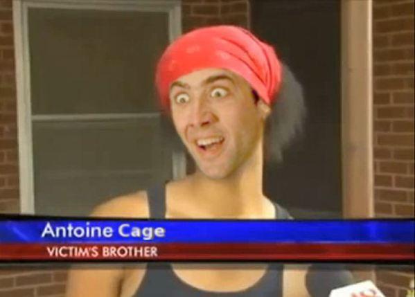 Nicolas Cage x Antoine Dodson - hide your kids, bed intruder, face swap