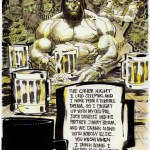 Conan Drinks Alone by urban-barbarian