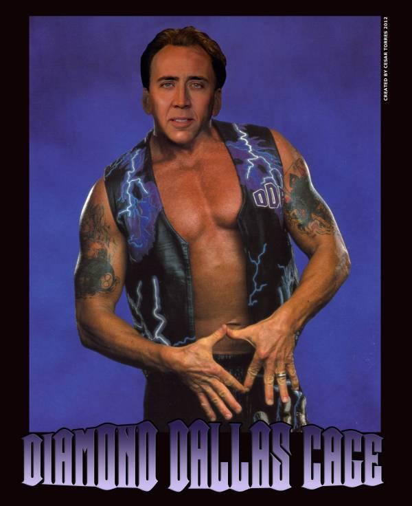 Nicolas Cage x Diamond Dallas Page Face Swap