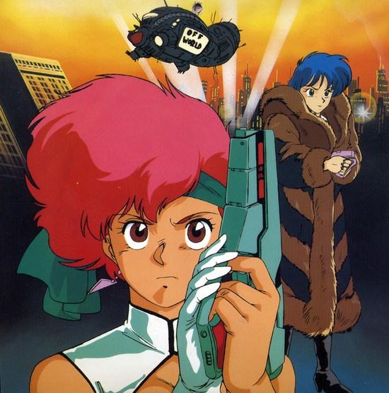 Dirty Pair Hollywood Calendar: Blade Runner - Kei, Yuri, anime, manga, Kobayashi Satoko