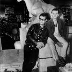 Bill Murray and Dan Aykroyd on the Set of Ghostbusters - Behind the Scenes Photo