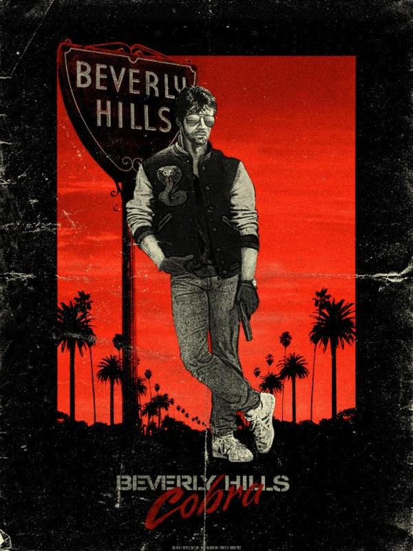Beverly Hills Cobra by Jon Smith - Eddie Murphy, Sylvester Stallone, Cop