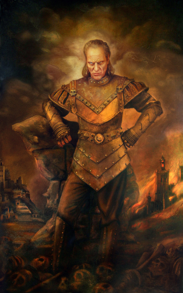 Vigo The Carpathian - Ghostbusters II - Wilhelm von Homburg - Max Von Sydow