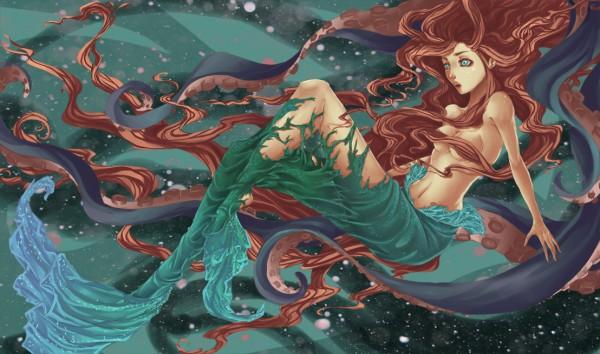 The Transformation by elotta - Little Mermaid, Disney, Fanart