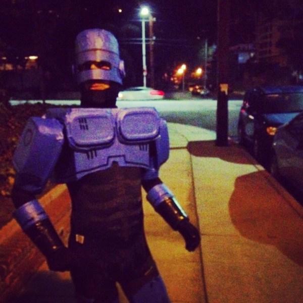 Handmade Robocop Costume By Rob Schrab