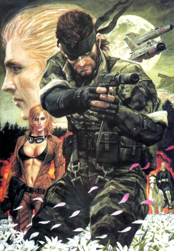 Metal Gear Solid 3 Artwork by Noriyoshi Ohrai - Video Games, Illustration