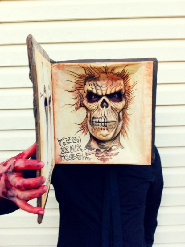 Evil Dead Necronomicon Halloween Costume - Book of the Dead