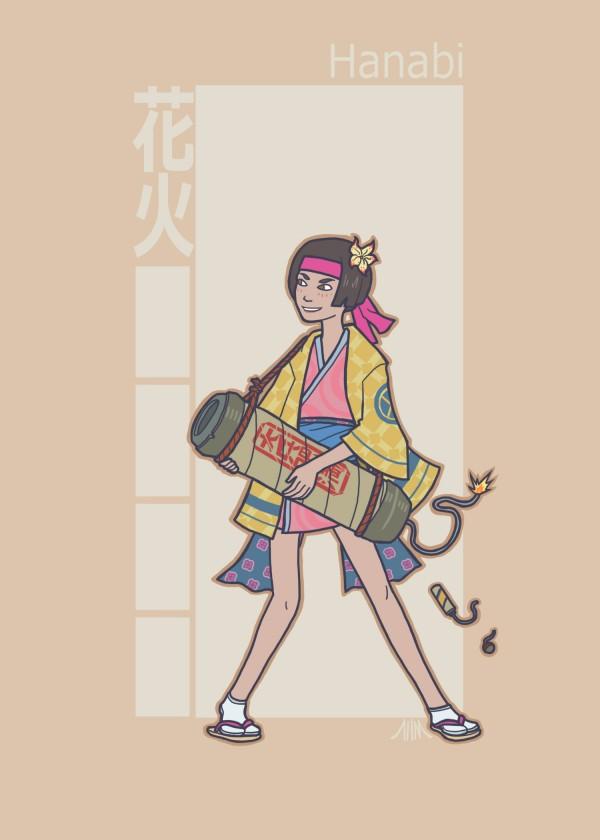 Jidaigeki X-Men Jubilee by genesischant - Samurai Period-Drama