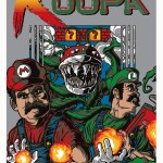 Contra x Super Mario Bros Mashup Art by Anthony Petrie