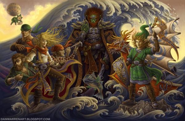 Legend of Zelda: Wind Waker by ~GoldenDaniel - Nintendo, Gaming, Art