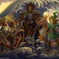 The Legend of Zelda: The Wind Waker Fan Art by ~GoldenDaniel