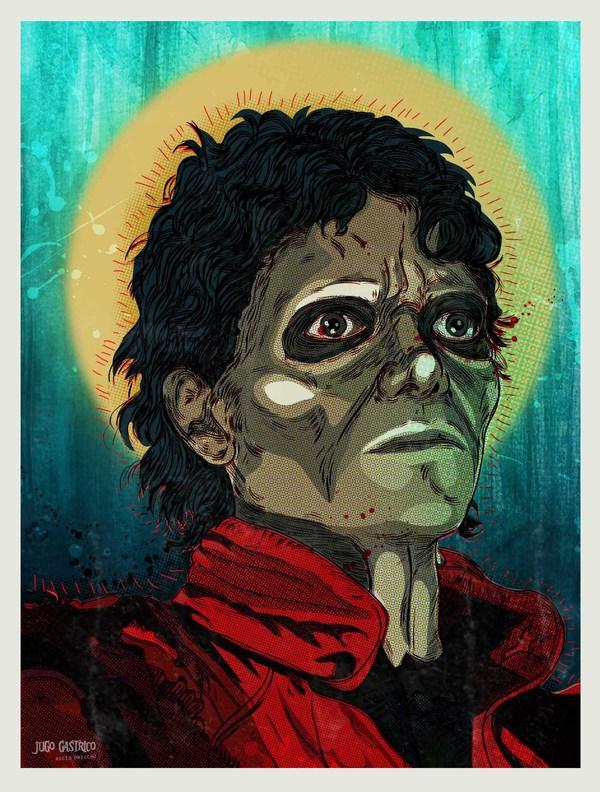 Thriller, Michael Jackson, Zombie, Art