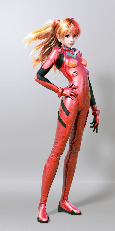 Asuka Langley Soryu From Neon Genesis Evangelion By Naoto
