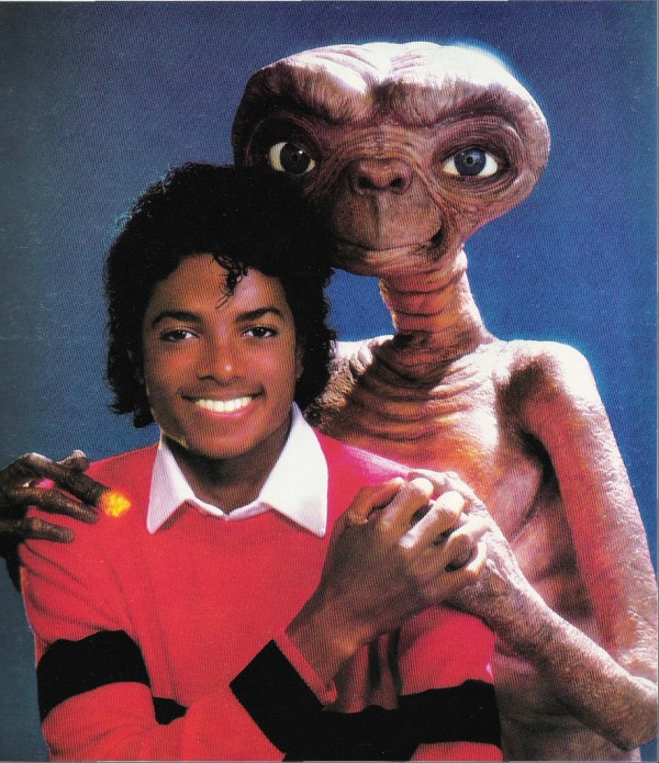 E.T. The Extra Terrestrial and Michael Jackson - audiobook, storybook, someone in the dark