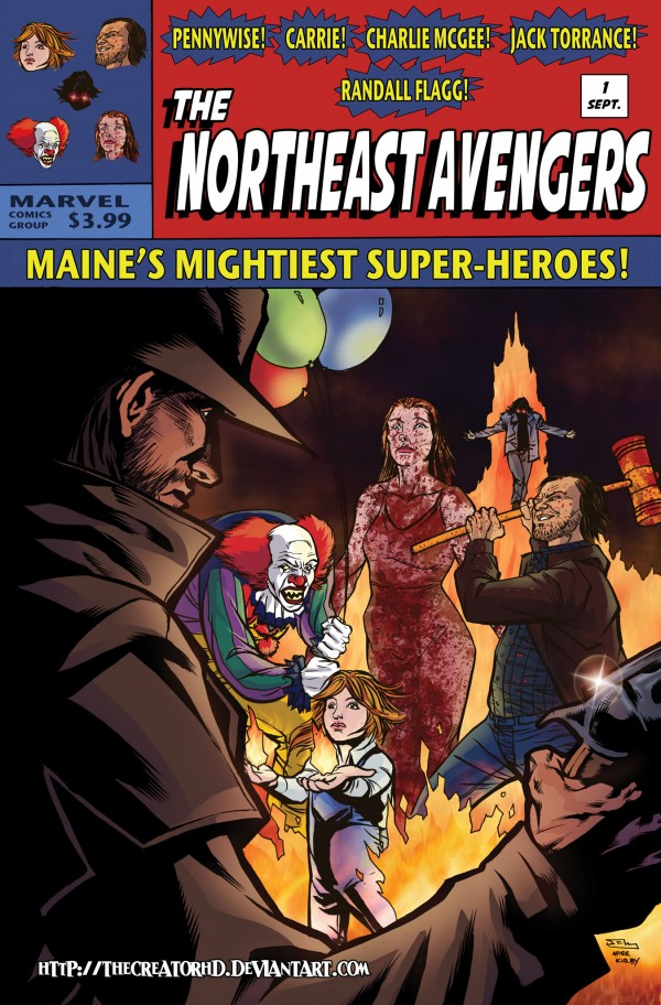 Northeast Avengers by Phillip Sevy - Stephen King Superheroes