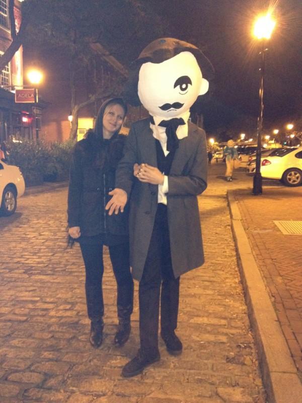 Edgar Allan Boh - National Bohemian Beer, Poe, Baltimore, Charm City, Halloween costume