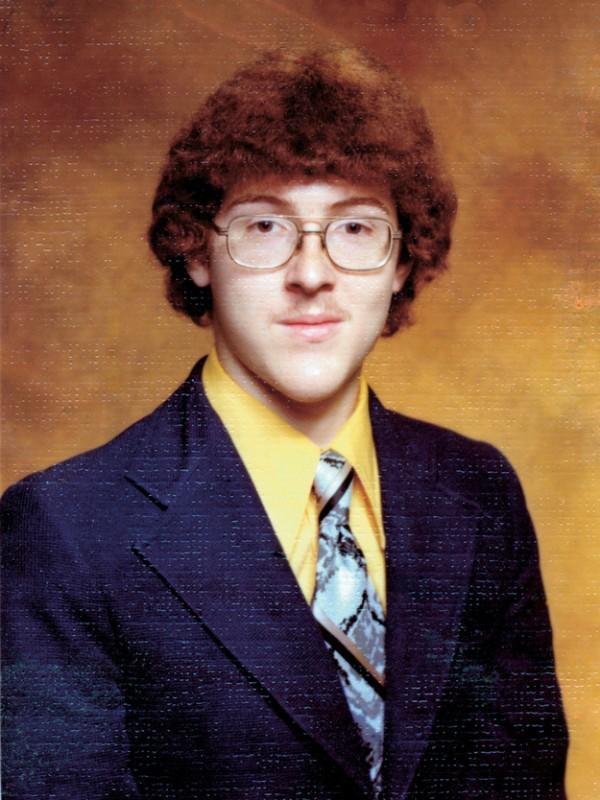 Weird Al Yankovic's High School Yearbook Photo