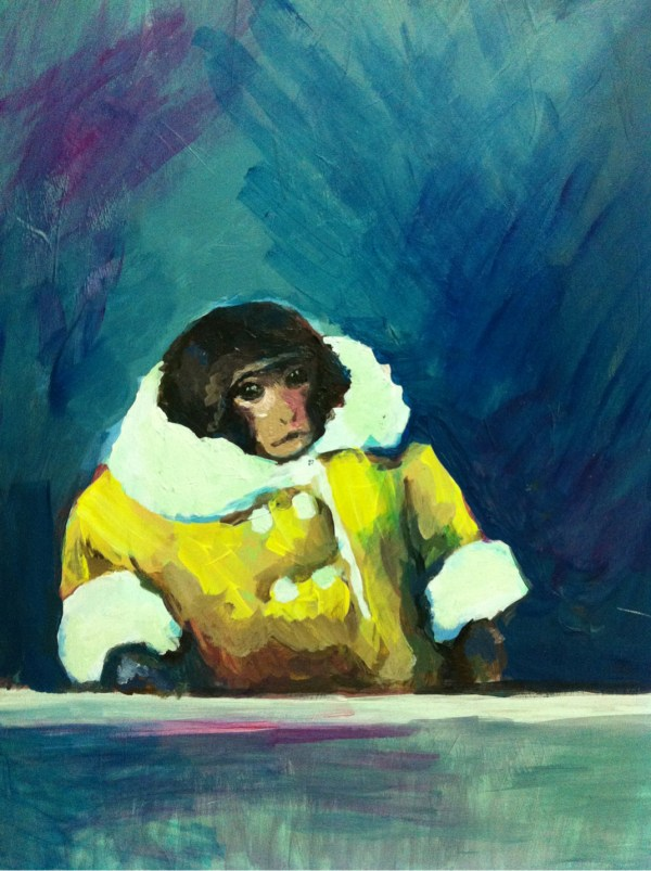 IKEA Monkey Painting by Wendy Faust