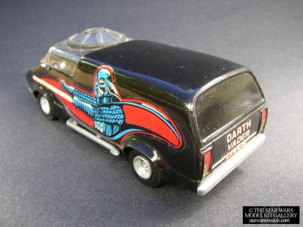 Darth Vader Custom Van Model Kit - Star Wars
