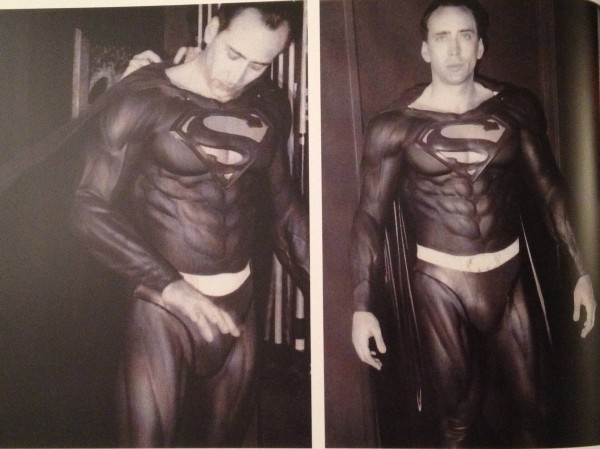 Previously Unseen Photo of Nicolas Cage in Superman Costume for Tim Burton and Kevin Smith's Unmade Film