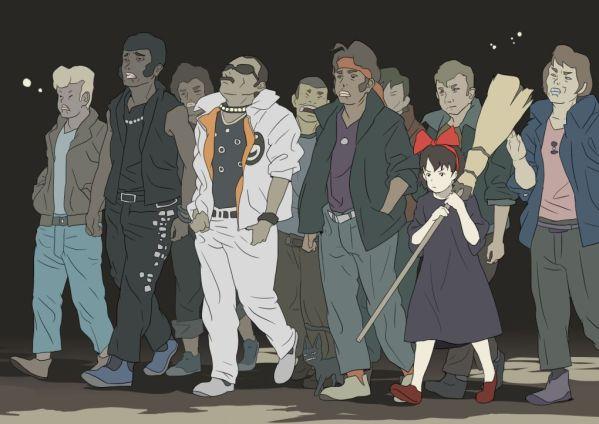 Kiki's Delivery Service x Michael Jackson's Beat It - Hayao Miyazaki Anime Studio Ghibli