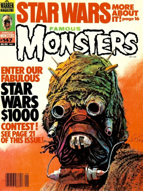 Famous Monsters of Filmland #147 - Star Wars Tusken Raider