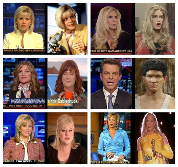 FOX News Personalities Look Just LIke Kids in the Hall Characters