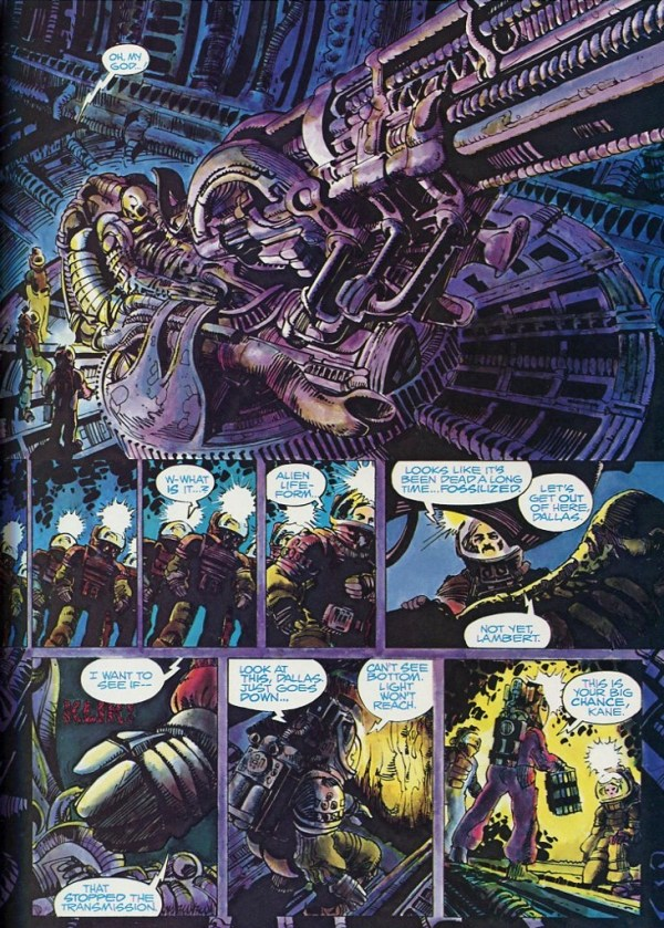 Alien The Illustrated Story Heavy Metal Comics 1979
