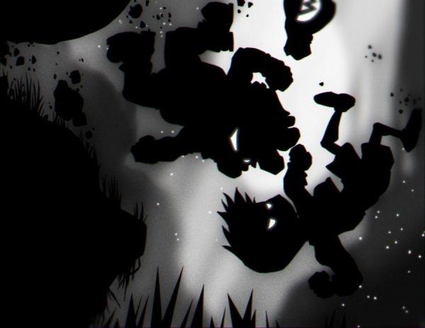Mario vs Limbo by Sebastian von Buchwald