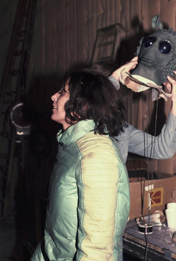 Maria De Aragon as Greedo - Star Wars Behind the Scenes