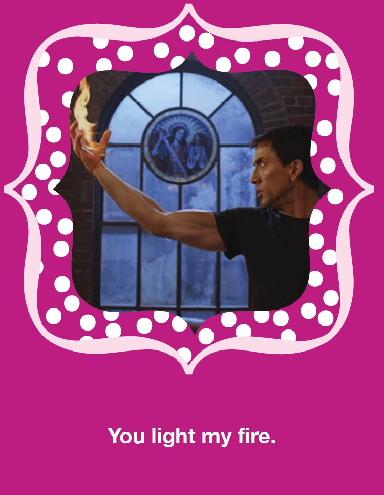 You Light My Fire   Nicolas Cage Valentineu0027s Day Card