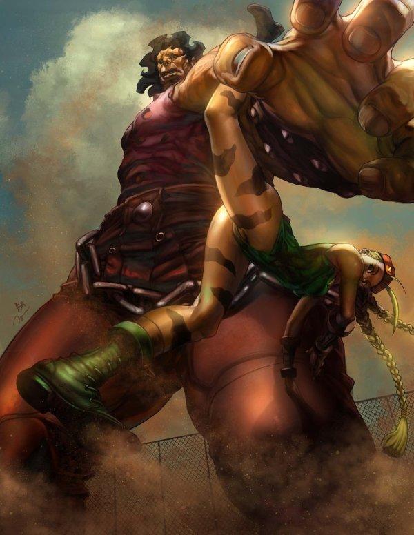 Hugo Vs Cammy by 2ngaw - Capcom, Street Fighter