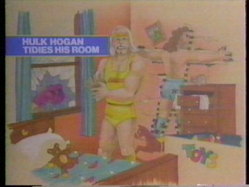 Hulk Hogan Tidies His Room
