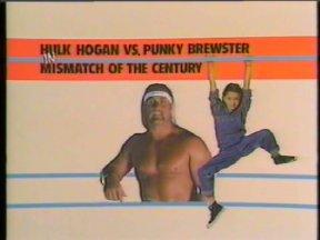 Hulk Hogan vs Punky Brewster