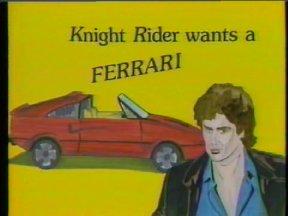 Knight Rider Wants a Ferrari