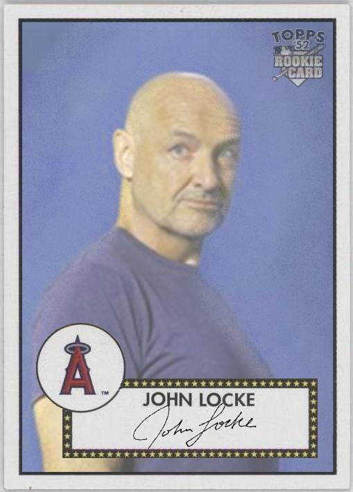 John Locke - LOST Baseball Card - Terry O'Quinn