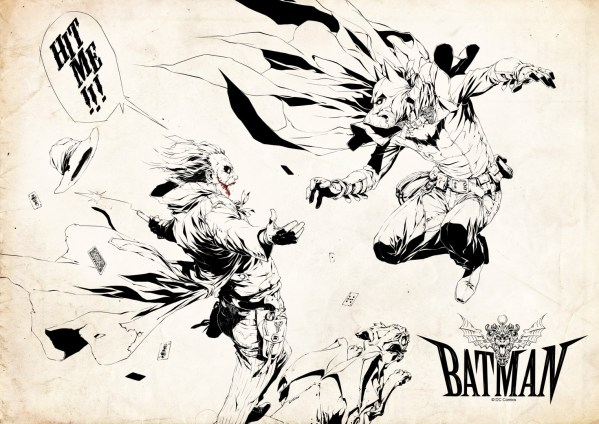 OLD WEST DARK KNIGHT BY 2NGAW - Batman vs Joker